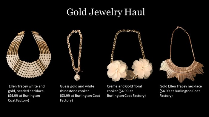 Gold Jewel Haul